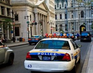 Pennsylvanian Police in roman Temple District